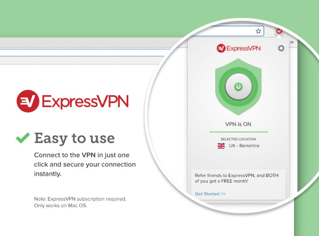 expressvpn browser extension